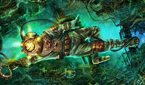 STEAMPUNK DIVER by Evocative Experiments