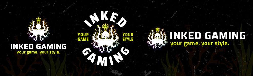 Rebrand Launch: New Inked Gaming Logos