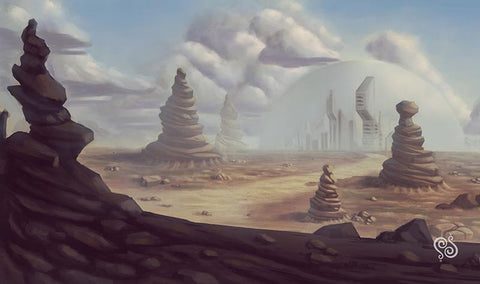 Desert City Playmat