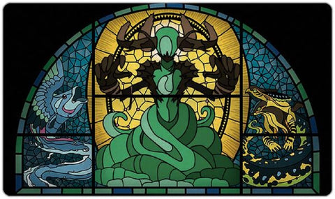 Stained Glass Gravetide Playmat