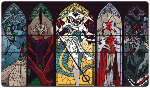 Stained Glass Praetors Playmat