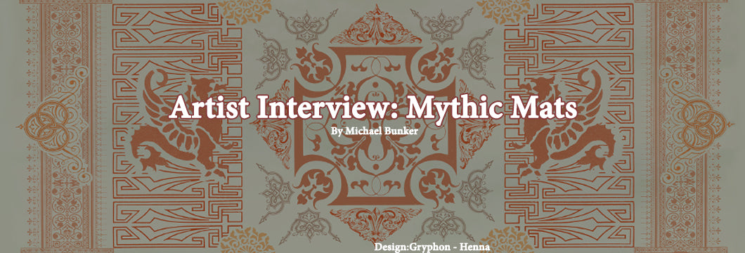 artist interview mythic mats
