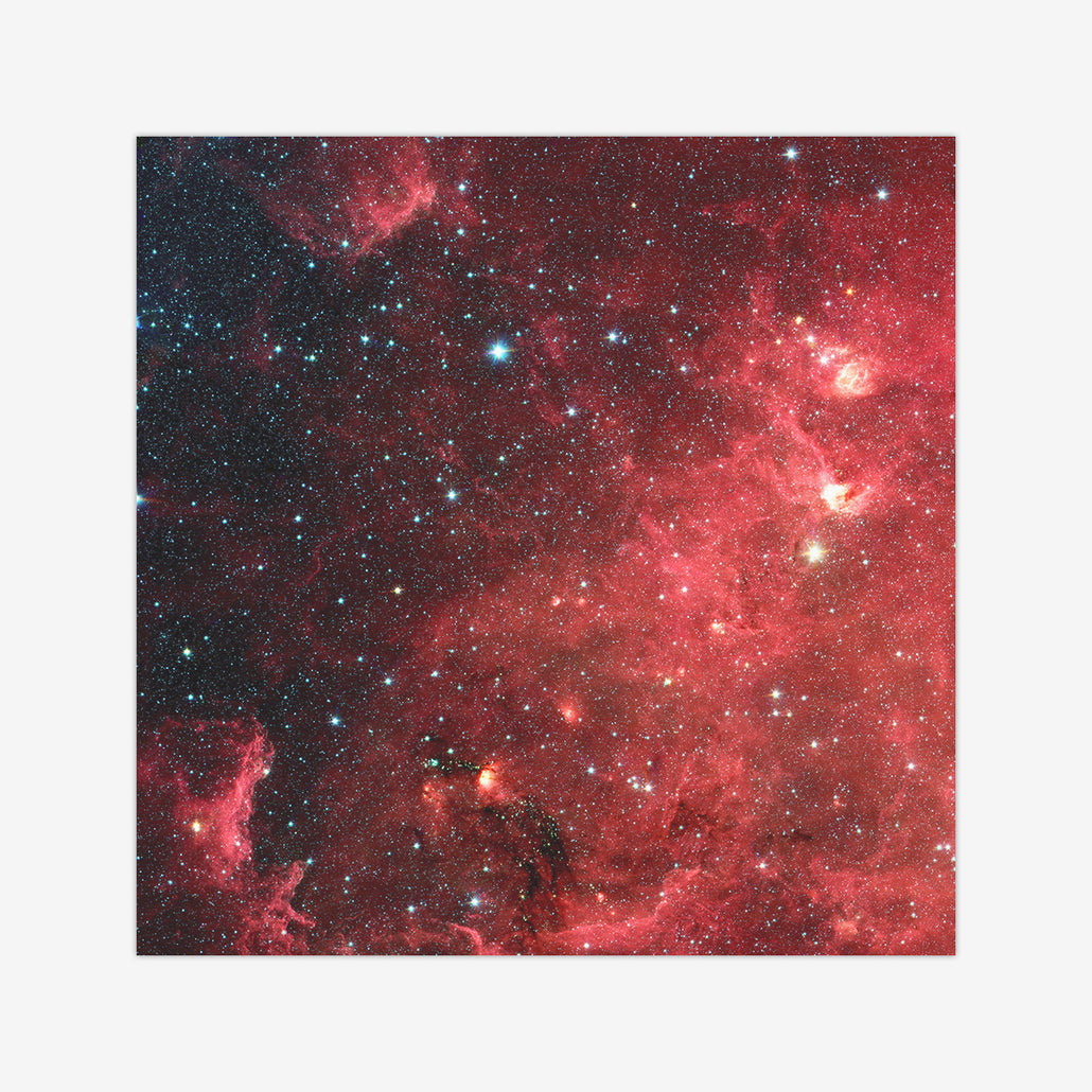 Red Starfield Wargaming Mat
