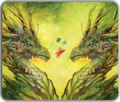 Earth Dragon Playmat Inked Gaming