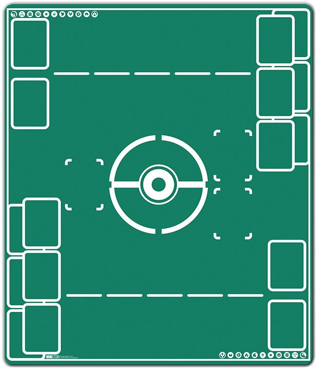 Battlefield Two Player Mat Inked Gaming