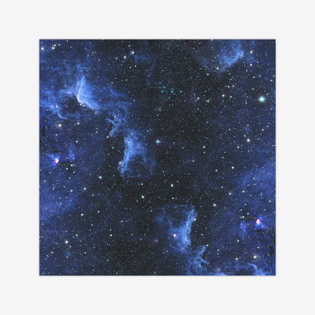 Blue Nebula Wargaming Mat