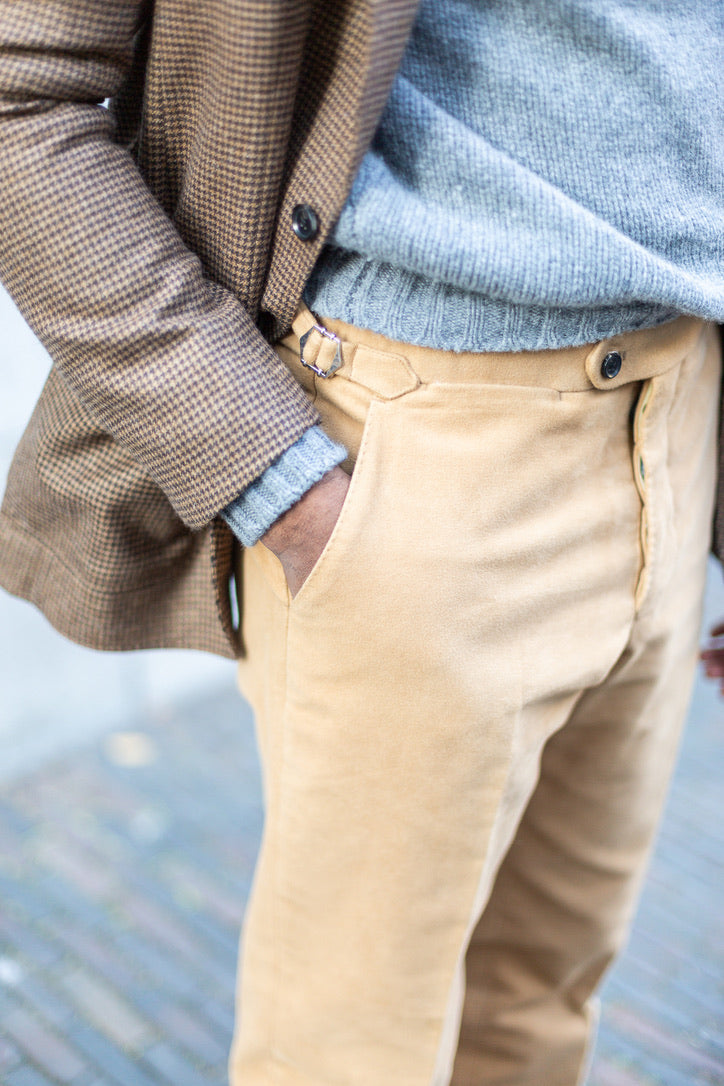 the moleskin trousers (4 fabric)