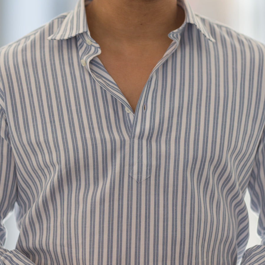 the striped popover (1 fabric)