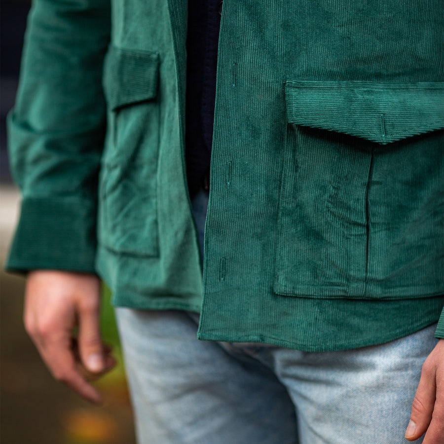 the corduroy overshirt (3 fabrics)