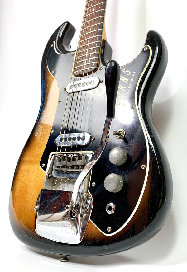 Burns Short Scale Jazz Guitar de 1962