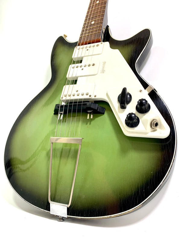 Egmond Super Solid 7 Greenburst de 1965