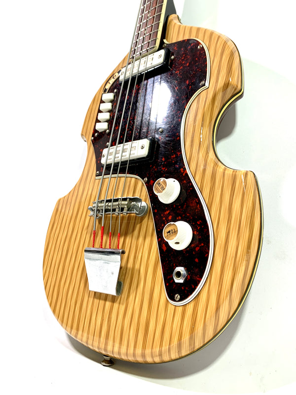 Eko Bass 1150 Woodgrain 1960's