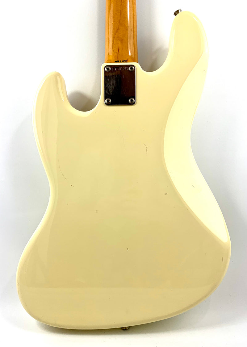 Fender Jazz Bass MIJ Olympic White de 1989