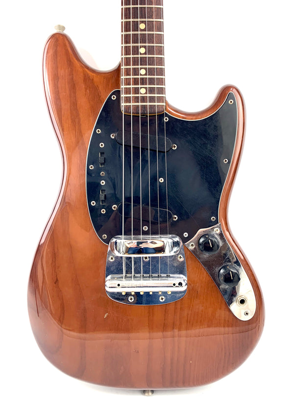 Fender Mustang Walnut (Mocha Brown) de 1975