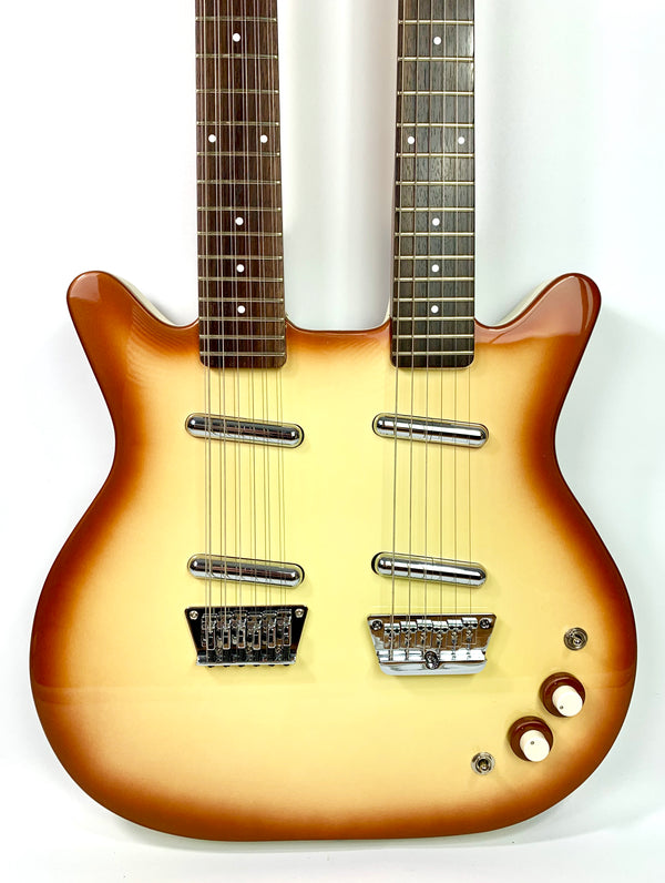Danelectro Double Manche DB612-CB Copper Burst