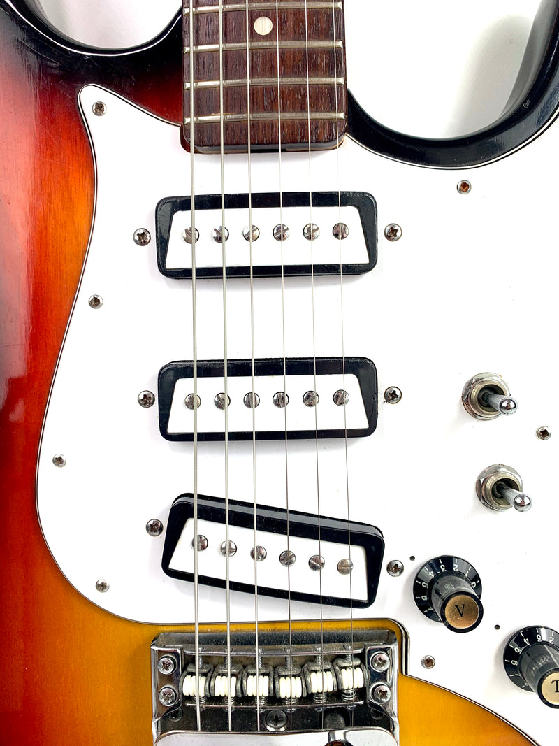 Luxor 1803T (Aria model) Sunburst 1970's