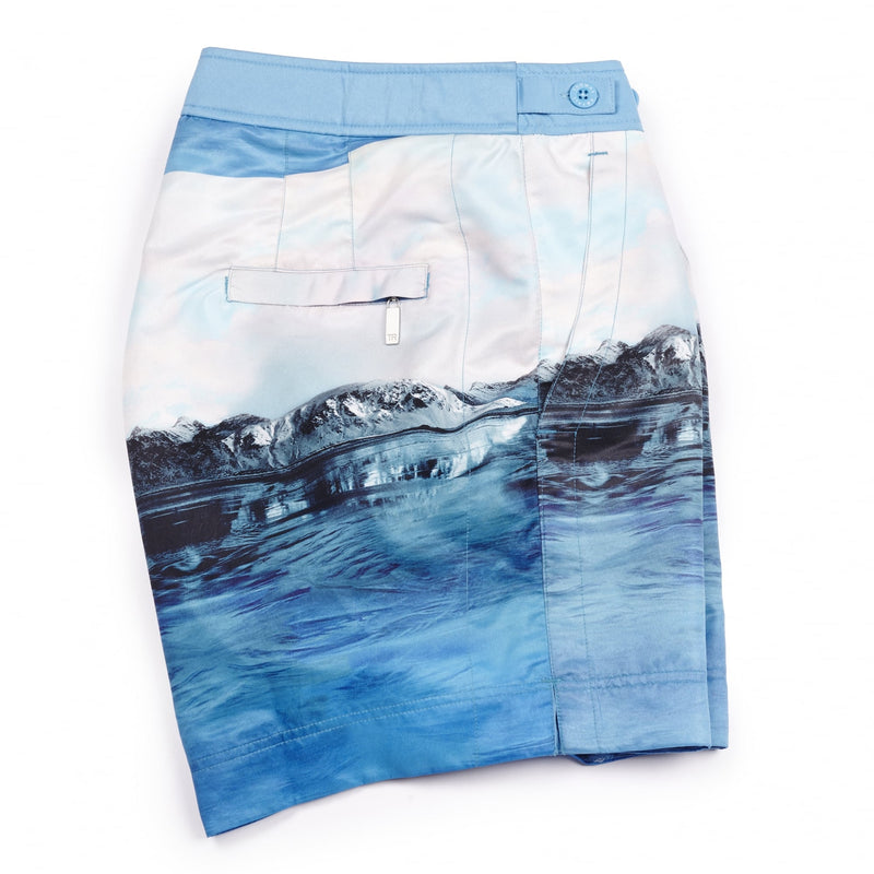 Arctic George Mid Length Mens Swim Shorts