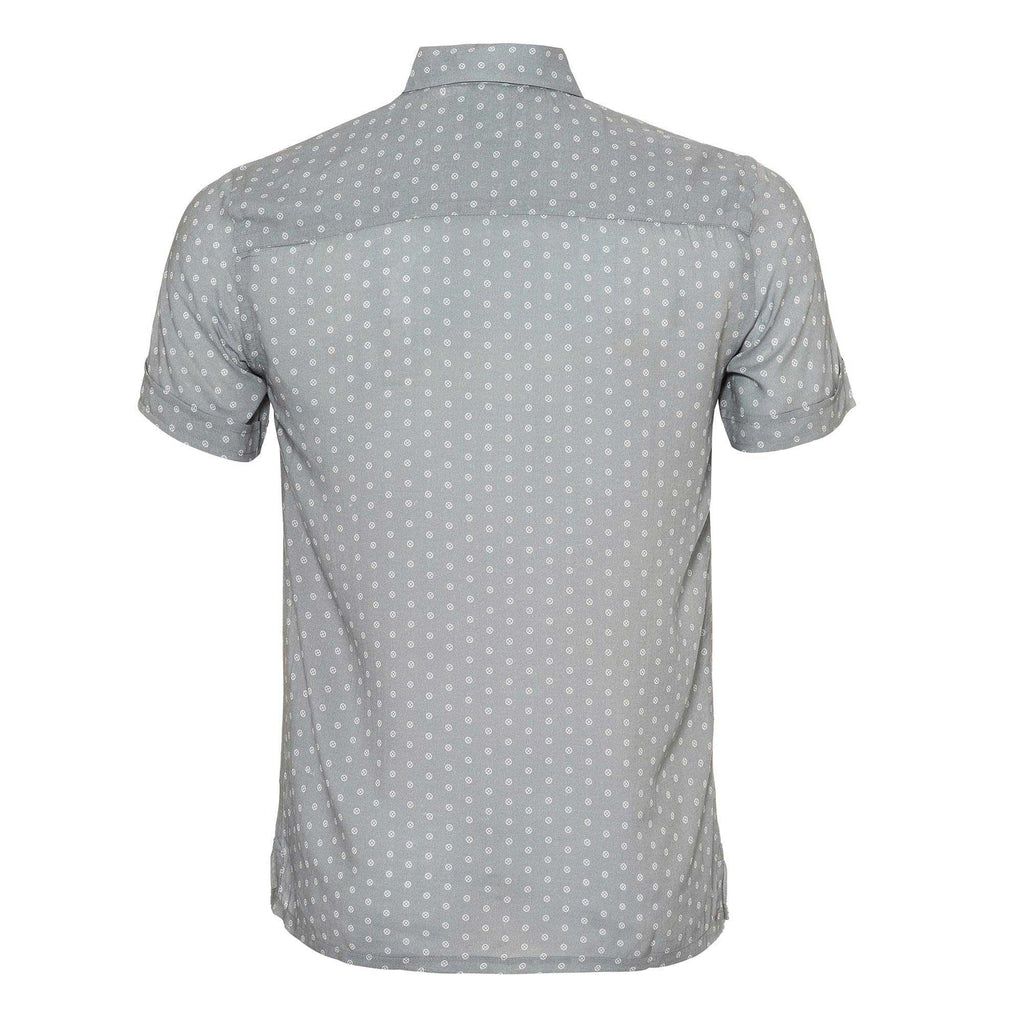 Croatia' mens shirt showcasing a contrasting TR logo polka dot design. Style this shirt with contrasting shorts for both kids and adults.