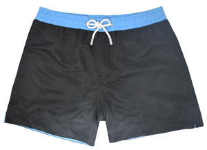 Jet Black Luca Swim Shorts