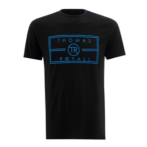 Our Black TR logo T-shirt has been hand crafted from pure cotton for a comfortable and cool feel.