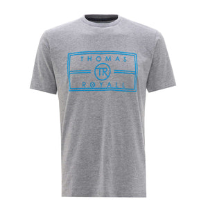 Our Grey TR logo T-shirt has been hand crafted from pure cotton for a comfortable and cool feel.