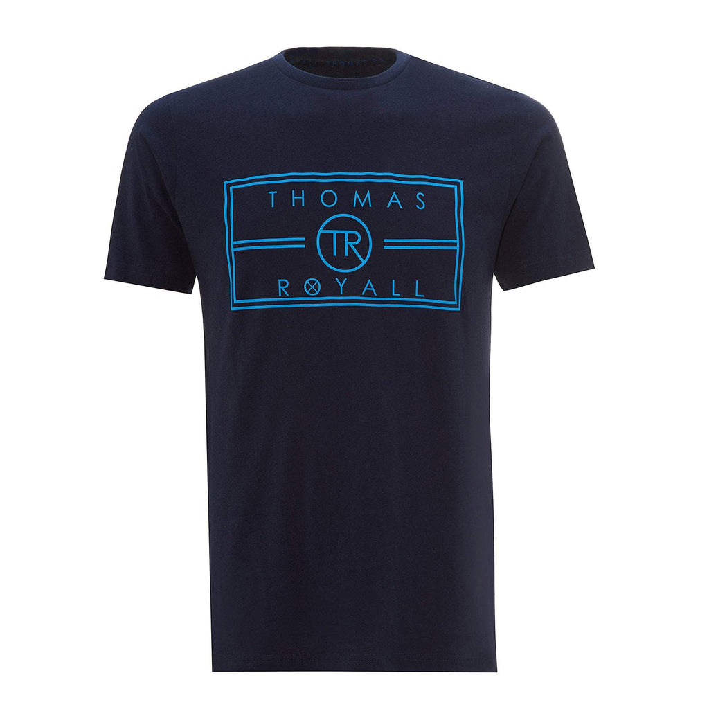 Our Navy TR logo T-shirt has been hand crafted from pure cotton for a comfortable and cool feel.
