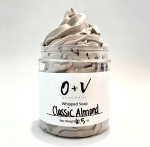 Whipped Soap | Classic Almond - Oil & Vines Handmade