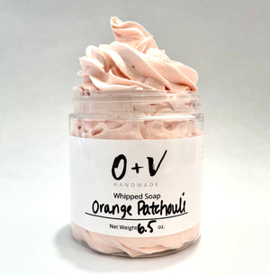 Whipped Soap | Orange Patchouli - Oil & Vines Handmade