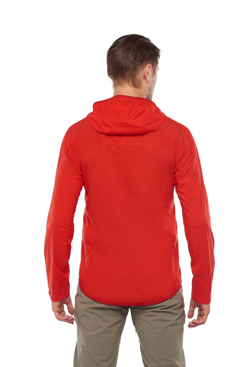 Crest Hoody, back view