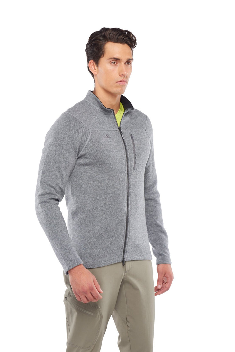 Pinnacle Sweater, profile view