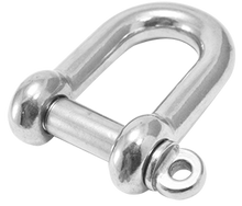 S360CP, SF360CP D-shackle (collared pin)