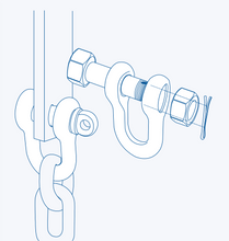 S3611 Oversize D-Shackle