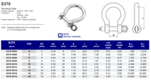 S370 Anchor Shackle