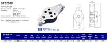 SF8257P Pulley Block