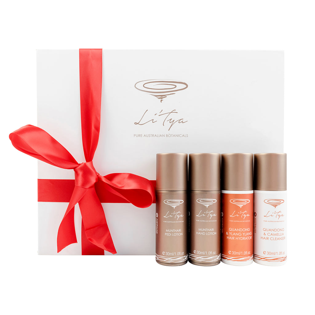 HANDS, FEET & HAIR GIFT SET