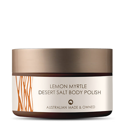 Lemon Myrtle Desert Salt Body Polish