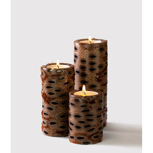 Short Pillar Candle