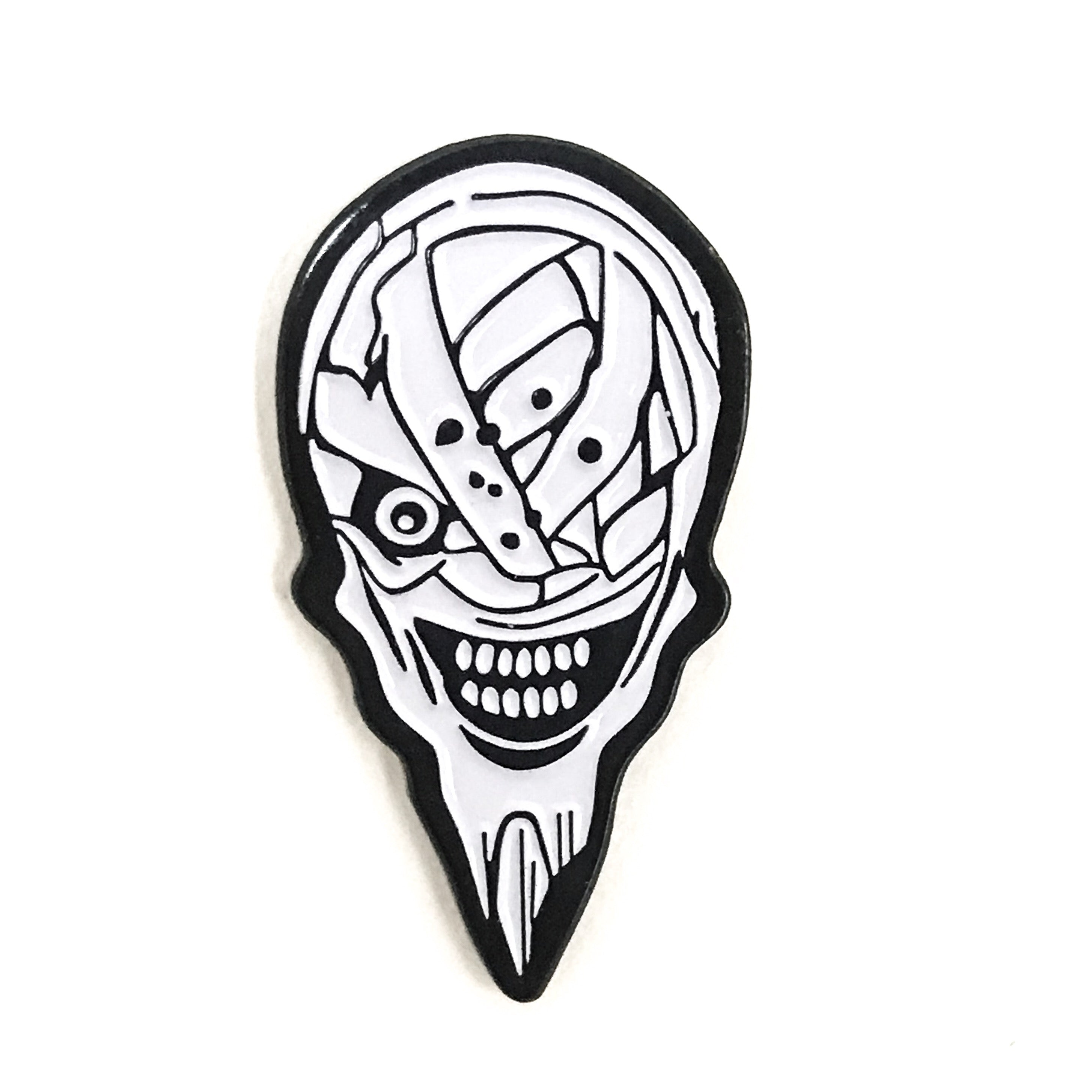 Geek Lord Mecha Soft Enamel Pin anime soft enamel pins japan anime pins japanese manga
