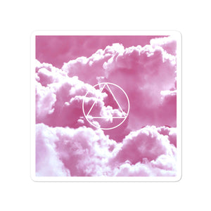 12 steps + Pink Cloud Bubble-free stickers