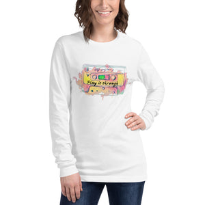 Play it Through Unisex Long Sleeve Tee