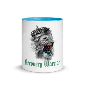 Recovery Warrior Mug with Color Inside