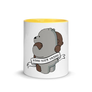 Hugs not Drugs Mug with Color Inside