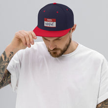 Load image into Gallery viewer, Hello Snapback Hat