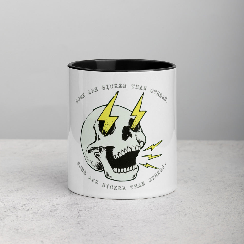 Some are sicker than others - Mug with Color Inside