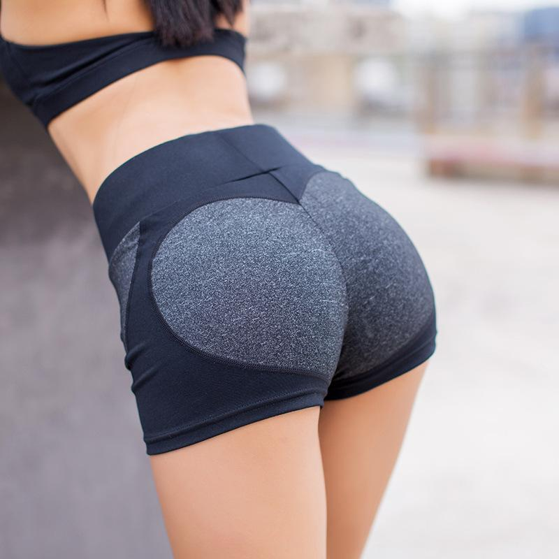 BootyBae Black & Gray / S Cutie Shorts