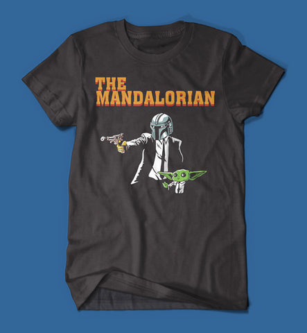 The Mandalorian Pulp Fiction Parody Men's/Unisex T-Shirt