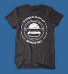 Dunder Mifflin Beach Day The Office Black Men's/Unisex T-Shirt