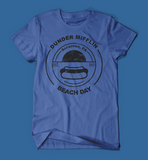 Dunder Mifflin Beach Day The Office Blue Men's/Unisex T-Shirt