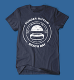 Dunder Mifflin Beach Day The Office Navy Men's/Unisex T-Shirt