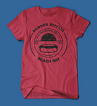 Dunder Mifflin Beach Day The Office Red Men's/Unisex T-Shirt